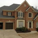Exterior Painters - Atlanta, GA - Brick home - Buford, GA - Kimberly Painting