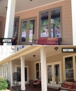 Exterior Painting, Decks, Porches - Woodstock, GA - Kimberly Painting